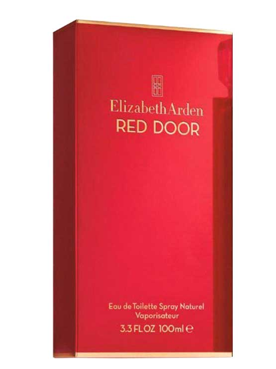 for door without elizabeth package women arden edt red tester